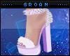 A| Lilac Fur Heels V2