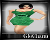Glo* Charlie Dress~Green