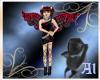 Al Red and Black Fairy