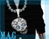 (MAG)SkullBling Necklace