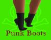 Punk Boots-Black