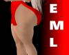 !EMl Red Bimbo Skirt
