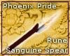 Phoenix Pride Rune Spear