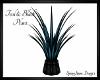 Teal & Black Plant