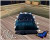 Blue Eden  Pillow Seat
