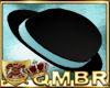 QMBR Hat Bowler Blk-Aq