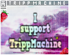 Tripps Support Sticker