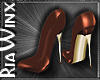 Wx:Chocolate LeatherHeel