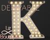 Luminous Letter Lamp K