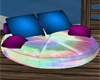 Rainbow Chat Pillow
