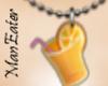 ! Orange Juice Necklace