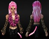 Pink Leopard & Ebon Lace