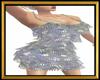 Fringe Silver Dress