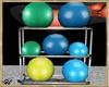 ~H~Workout Ball Rack