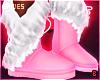 в. Winter Boots Pink