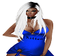 RLL BLU KITTEN DRESS
