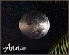 Static Flat Moon