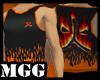 Black Flaming Hot Jersey