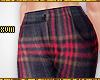 ! Plaid Cig Trousers