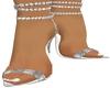 White Crystal Heels