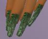 [MZ]GreenMarbleNails