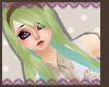Green/Mint Mix hair