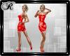 Red Glistenz Dress