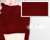 AT Red Sweater Crop