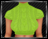 Crop Neon Sweater