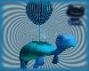Turtle Balloon - Blue