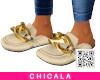 Ch: Chain Slides Beige