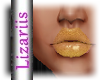lLizl Lipstick Gold