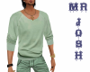 JOSH shirt pastel green