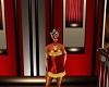 FA Gold N Red Dress