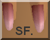 SF. Light pink nails