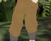 Tan Japanese Ninja Pants