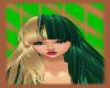 *Anime* Green/blond