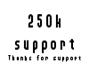 250k Support