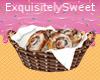 Ice Cinnamon Buns Basket