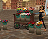 Piazza Flower Cart