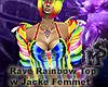 Rave Rainbow TopwJacketF