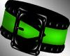 Green right arm Armband