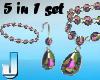 5 Jewelset MultiColor 1
