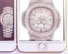 Freezer Diamond Watch.