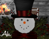 Christmas-Snowman deco.