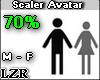 Scaler Avatar M - F 70%