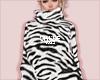 cosy jumper zebra
