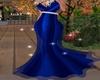 Elegant  Blue  Gown