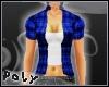 Check Shirt [blue]