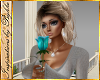 I~Sweet Teal Rose 2P